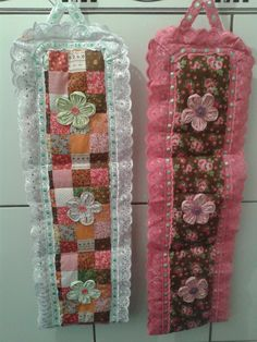 Sewing Slippers, Crafting Recipes, Sewing Projects, Projects To Try, Toilet Paper Crafts, Diy And Crafts, Arts And Crafts, Toilet Paper Roll Holder, Bathroom Crafts