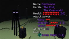 Endermen - Minecraft Guides