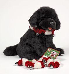 Black Paw Studio - Amherst, NH - Newf Images: Christmas Jingle Collars