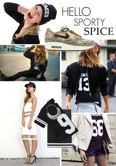 Marinke's Monday Moodboard: Sporty Chique