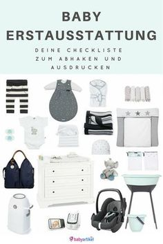 Baby Erstausstattung ♥ What you really need - Baby - Bebe The Babys, Baby Needs, Baby Love, Baby Baby, Pretty Baby, Baby Zimmer, After Baby, Baby Hacks, Baby Tips