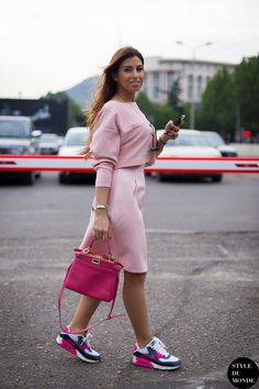 Tbilisi Fashion Week FW 2014: Nigar Gahramanova & Fidan Mammadova » STYLE DU MONDE | Street Style Street Fashion Photos