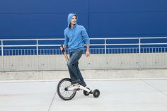 Halfbike - the personal vehicle that brings joy back to urban mobility