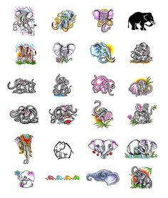 The meaning of good fortune and success is the most general meaning of an elephant tattoo. Other meanings include wisdom, loyalty and fidelity.