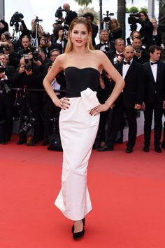 Doutzen Kroes in a DIOR gown #Cannes2015