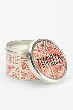 NYC Round Tin Candle Cost