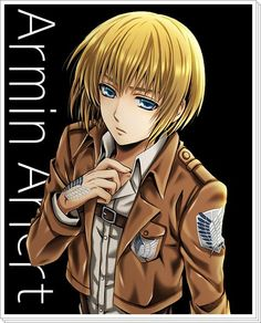 Armin Arlert - Attack on Titan / Shingeki No Kyojin