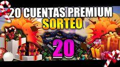 SORTEO DE 20 CUENTAS PREMIUMS | COMO TENER CUENTA PREMIUM EN MINECRAFT G... Minecraft, The Originals, Youtube, Prize Draw, Beads, Youtubers, Youtube Movies