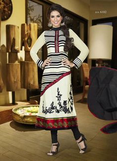 Unparalleled Party Wear Georgette Salwar Suits on www.wholesalesalwar.com