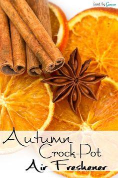 Autumn Crock Pot Air Freshener