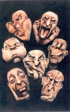 Understanding the spectrum from difficult people to Personality Disorders Sculpture Clay, Sculptures, Wood Carving Faces, Clay Faces, Paperclay, Clay Figures, Personality Disorder, Interesting Faces, Clay Art