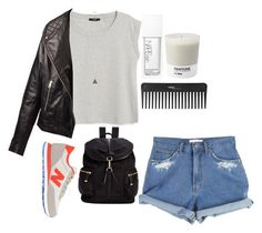 """""""fashion it"""" by jennifer-lourdes on Polyvore featuring MANGO, NARS Cosmetics, Pantone, Sephora Collection, Topshop, New Balance and Calvin Klein"""