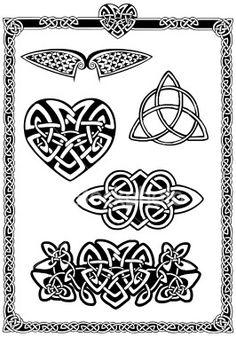 Glass engraving or etching pattern.