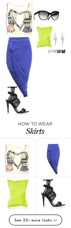 """wrap skirt style1/ecletic"" by kristie-payne on Polyvore"