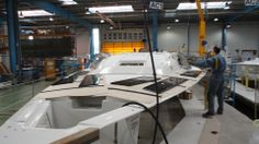 Window install on our new Jenneau's Bay Of Biscay, First Class, Boat Building, Sailboat, Boats, Sailing, Window, News, Sailing Boat