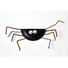 Svart spindel Halloween Crafts, Nature, Projects, Creative