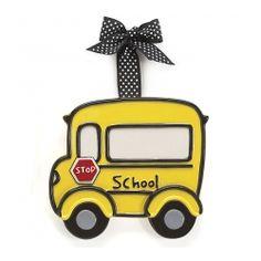 LG Yellow School Bus Ornament