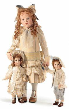 Frederike With Girl Doll by Hildegard Gunzel