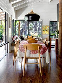 Melanie Clark and Joe Ottone and Family — The Design Files   Australia's most popular design blog.