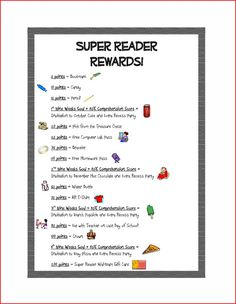 AR rewards--some of these are too young for my students to be interested in, but it could easily be adapted for middle school students.