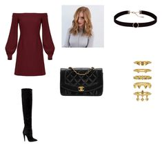 Untitled #50 by glittergirlr5 on Polyvore featuring Jill by Jill Stuart, Yves Saint Laurent, Chanel and Luv Aj
