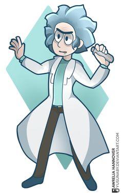 Rick n Morty.- Rick Sanchez by yusunaby