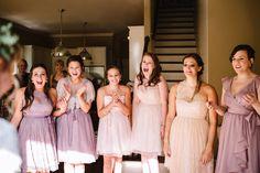 best bridesmaid reaction!   Rebecca Read