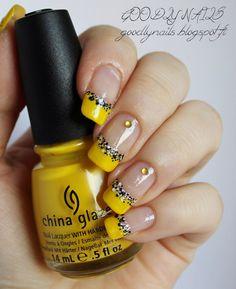 Goodly Nails: Keltainen ranskis