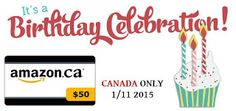 WHAT'S NEW CANADA: An Amazon-ingly Birthday Celebration Giveaway