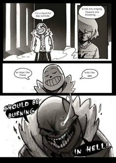 Undertale Chara and Sans Genocide Bad time