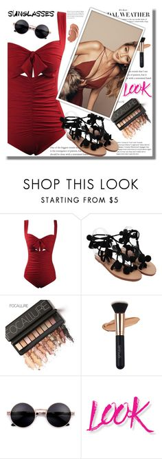 """Rosegal 31"" by edita-n ❤ liked on Polyvore featuring NYX"