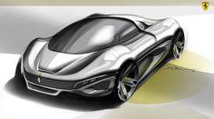 Ferrari Study by Niko Pesa