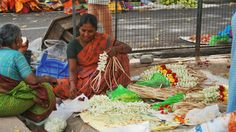 Indian flower ladies