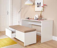 Asztal és fiókos ülőpad szett 324085 a Tchibo-nál.