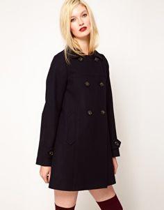 Sessun Palemberg Wool Pea Coat