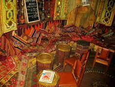Cafe Egyptien, 112 rue Mouffetard, 5eme. Cheap but quality shisha