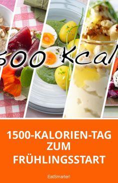 1500-Kalorien-Tag zum Frühlingsstart | eatsmarter.de
