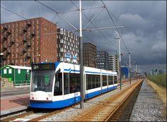 https://flic.kr/p/bvyj5 | Amsterdam public transport. | Piet Heinkade Amsterdam.