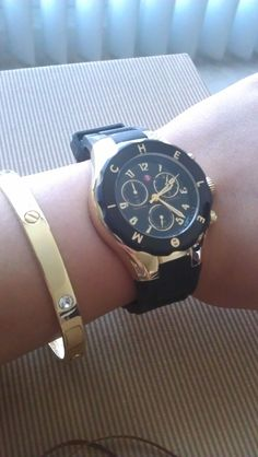 Michele Watch + Cartier Love