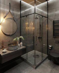 Home Room Design, Dream Home Design, Home Interior Design, House Design, Loft Design, Interior Design Toilet, Modern Apartment Design, Studio Interior, Cabin Design