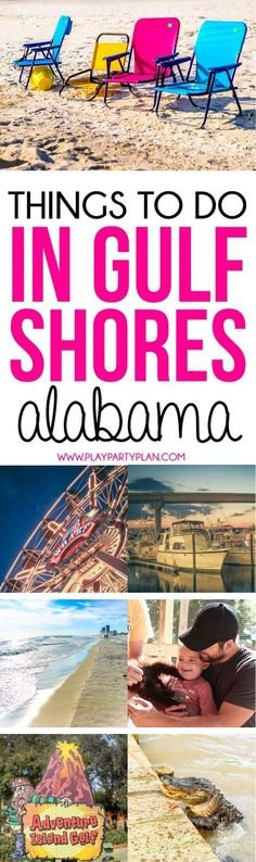 Planning a Gulf Shores Alabama Vacation? This guide to things to do in Gulf Shores Alabama will make planning your Gulf Shores Vacation easy! Everything you need to know from places to eat in Gulf Shores to where to stay! #EverythingOrange