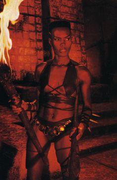 Grace Jones as Zula // Conan the Destroyer (1984)