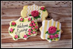 Spring roses by Ahimsa Custom Cakes   Cookie Connection