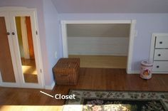 Things to do with upstairs cape cod bedrooms on pinterest for Cape cod closet ideas