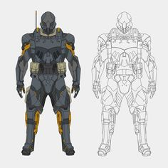 Manga Drawing, Manga Art, Armor Concept, Concept Art, Character Sheet, Character Art, Comic Art, Comic Books, Arte Robot