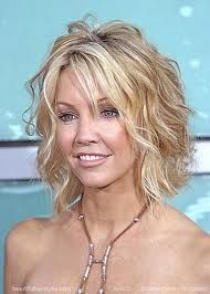 Loose beachy waves on short hair-- it is a bit layered