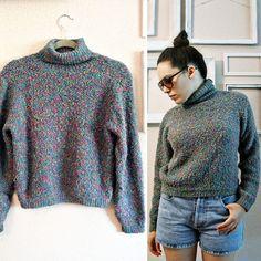 90s  Rainbow Sprinkles  Colorful knitted by FrankieMariebyRehcy, $29.99 #90sfashion #fashion #vintagefashion #vintage #vintagelove #vintagejunkie #vintagesweater #rainbowsweater #ilovethe90s