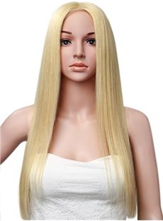 26 Inches Full Lace Cap 120% Straight Human Hair