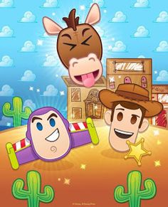 🤠 The Challenge has begun, with Bullseye available in the Diamond Box for the first time! Play to prep for next… Emoji Characters, Disney Movie Characters, Disney Movies, Disney Pixar, Festa Toy Story, Toy Story Party, Disney Games, Disney Toys, Dibujos Toy Story