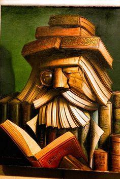 Bookalishish art by Andr Martins de Barros